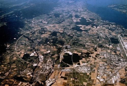 Vista aérea LHC